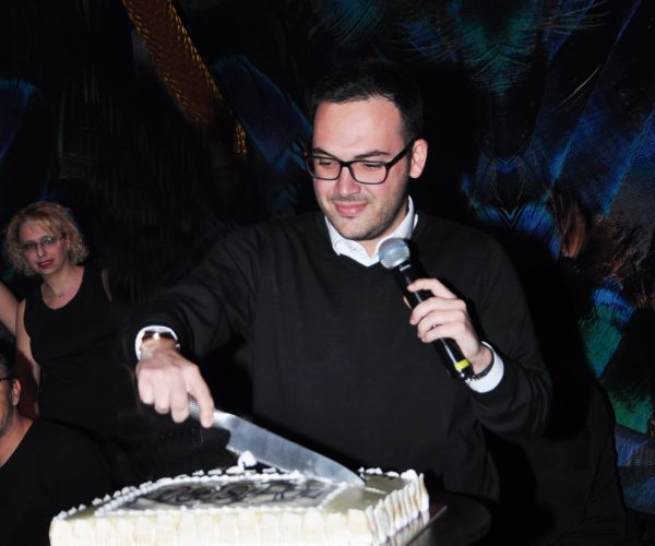 Politis Group New Year's  Pie-Cutting